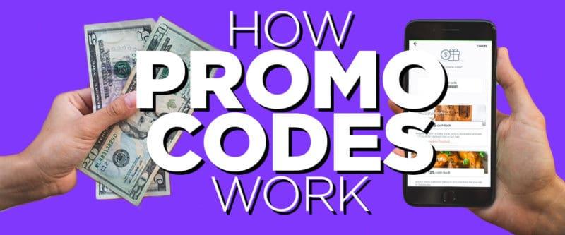 how freebird app promo codes work